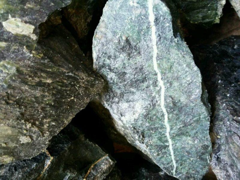 «Камень для бани - молотый нефрит» фото - 4395981689 800x600