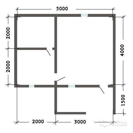 «Баня 4х5 м с террасой» фото - 4409307915