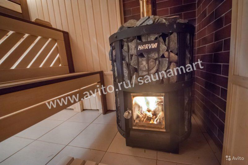 «Печи для бани на дровах Harvia» фото - 4463337023 800x533