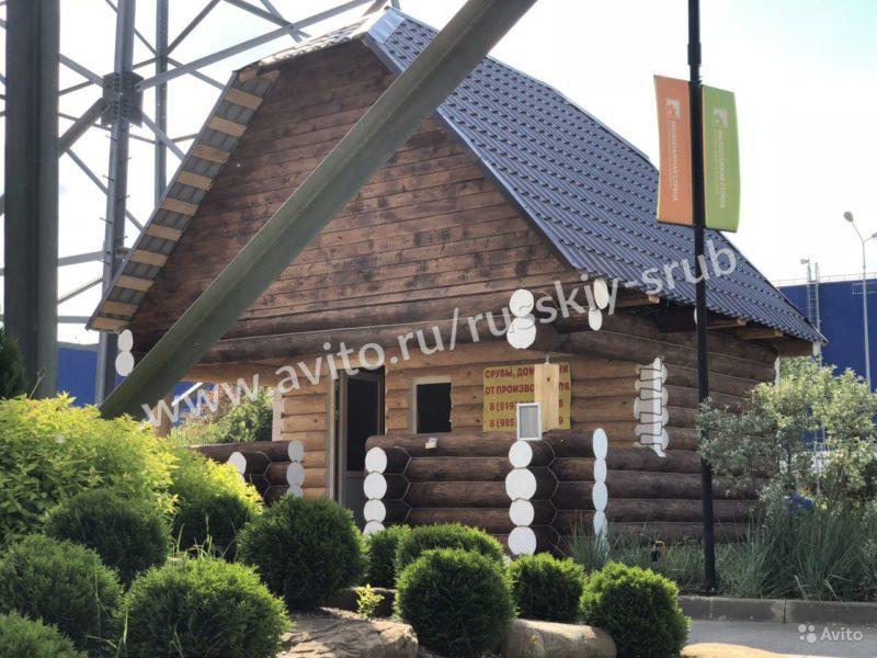 «Сруб бани\дома с мансардой» фото - 4468754752 800x600
