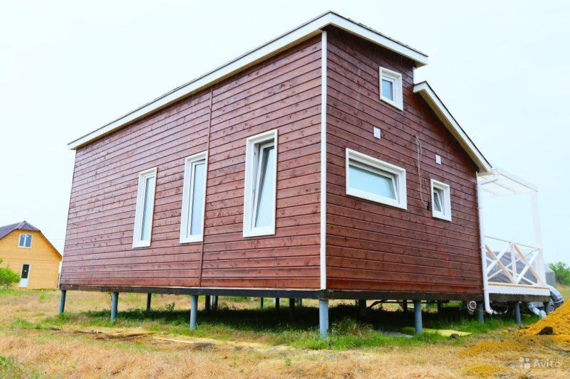 «строительство деревянных домов от 25 м3, коттеджей, бань» фото - 4471705207 800x533
