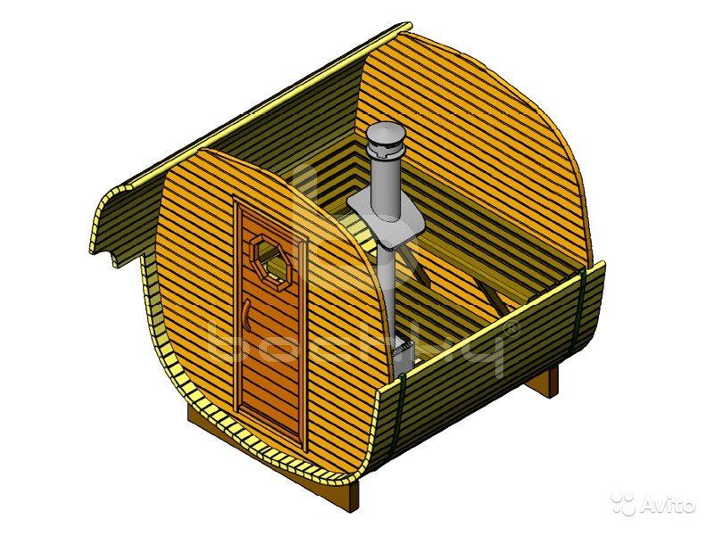 «Баня - октабочка «Мини» Европейского качества 2,6 метров» фото - 4476046465 800x600