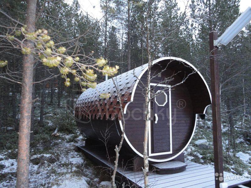«Баня бочка от производителя г. Краснодар» фото - 4489285324 800x600