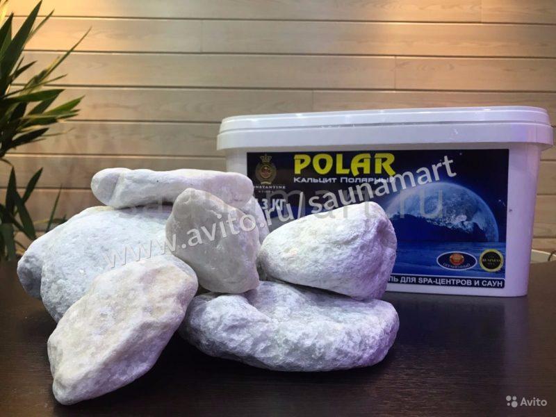«Камни Polar Кальцит Полярный 14,3 кг» фото - 4489714767 800x600