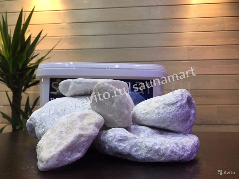 «Камни Polar Кальцит Полярный 14,3 кг» фото - 4489714786 800x600