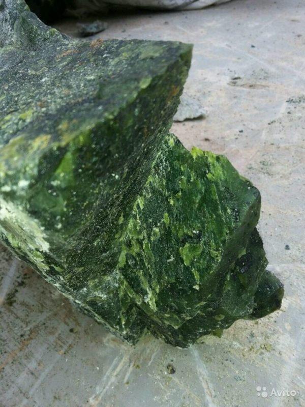 «Камень для бани - молотый нефрит» фото - 4498487802 600x800