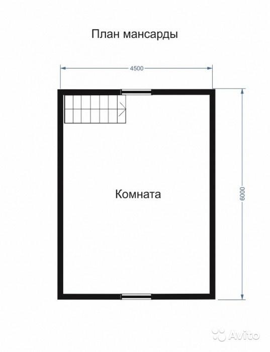 «Двухэтажная баня 63 м2» фото - 4501651638