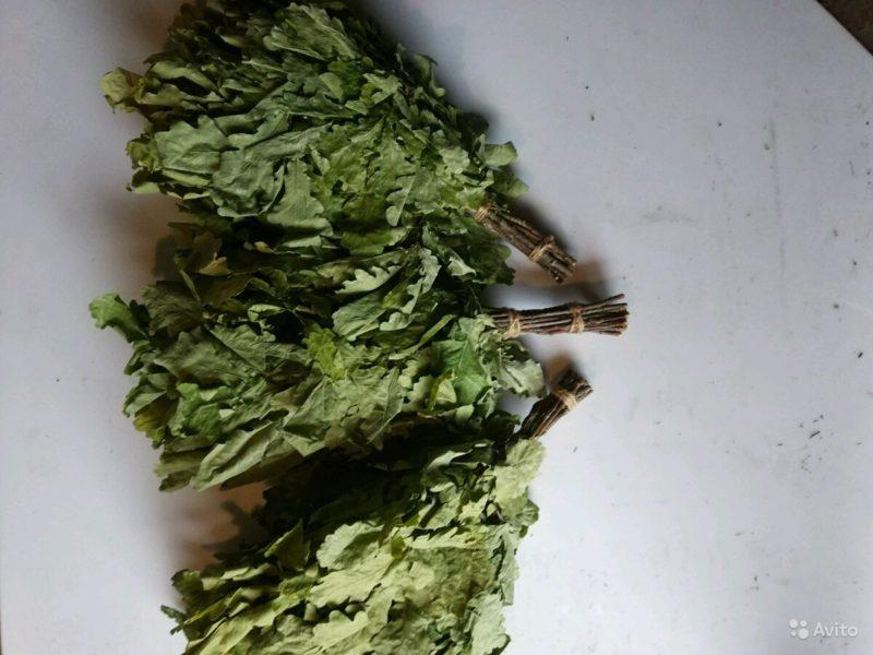«Веники для бани дубовые, березовые, липовые и можжевеловые» фото - 4521923283 800x600