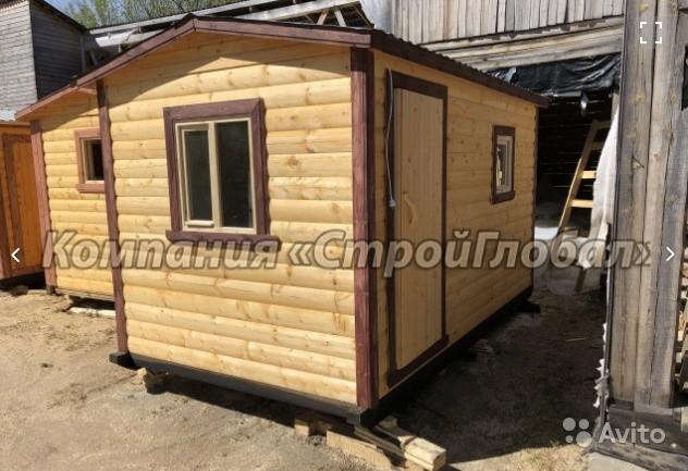 «Мобильная баня из цельного бруса 100х150 в Краснодарском крае» фото - 4536362569