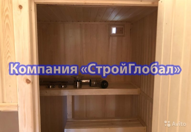 «Мобильная баня из цельного бруса 100х150 в Краснодарском крае» фото - 4536362573 800x552