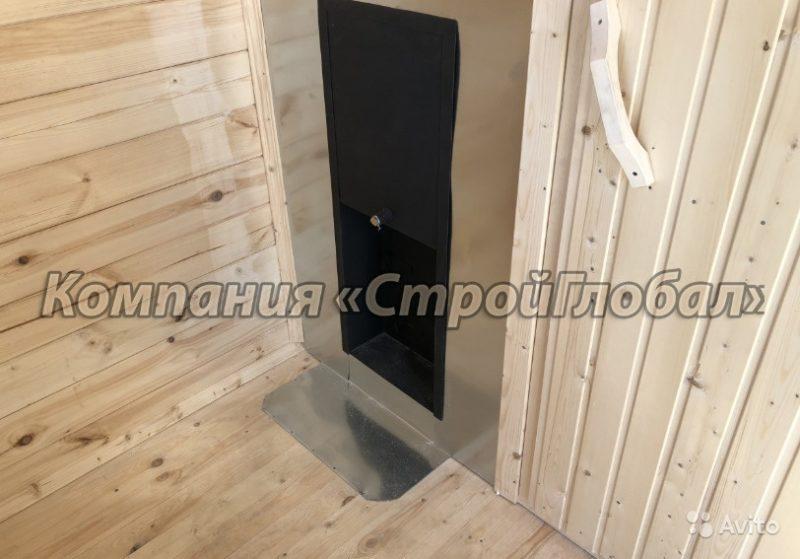 «Мобильная баня из цельного бруса 100х150 в Краснодарском крае» фото - 4536362578 800x559