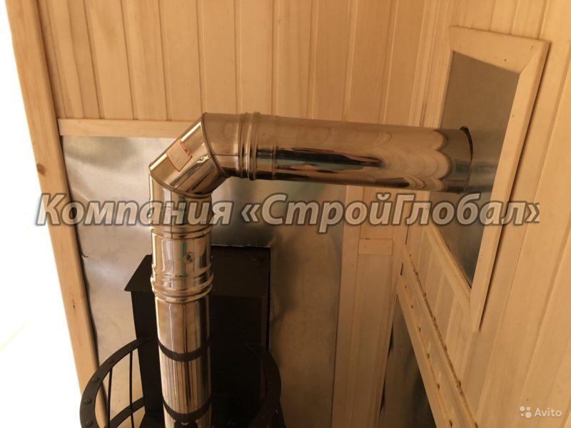«Мобильная баня из цельного бруса 100х150 в Краснодарском крае» фото - 4536362702 800x600