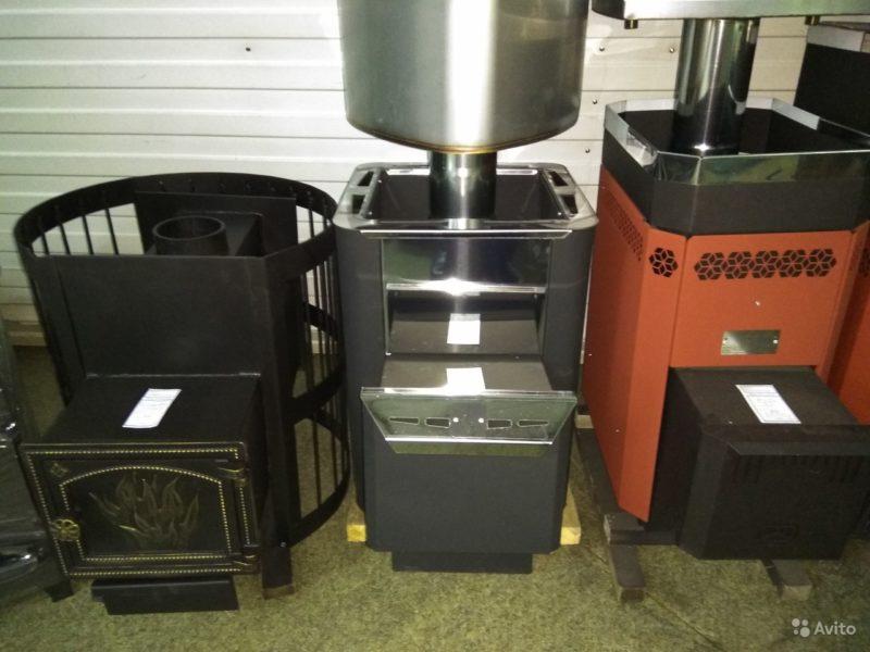 «Печь для бани и сауны отопительная с выносной топкой» фото - 4541750945 800x600