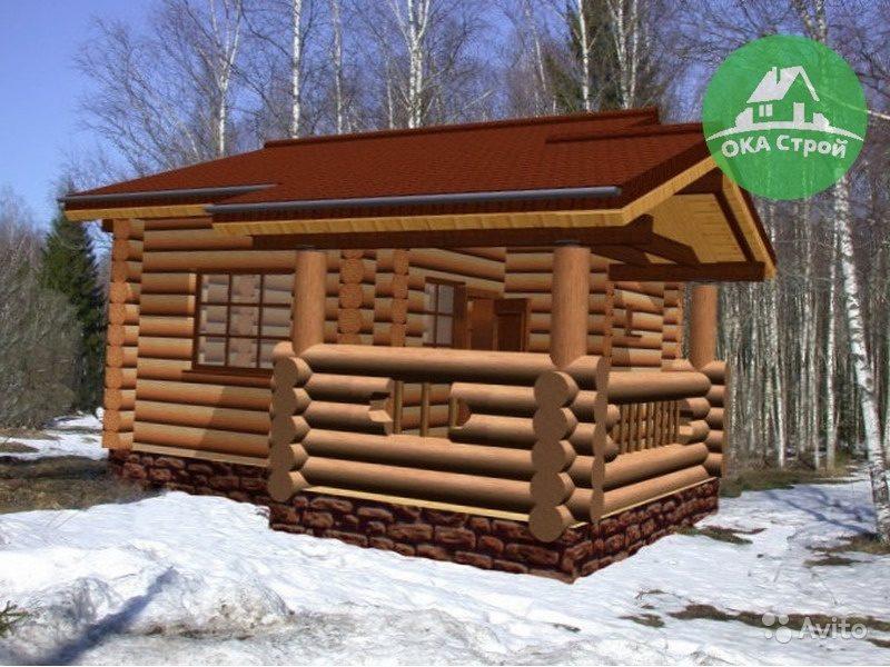 «Баня с комнатой отдыха и беседкой Арт.43-240» фото - 4543888549 800x600