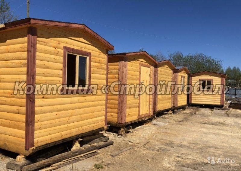 «Перевозные бани в Москве» фото - 4551028519 800x566