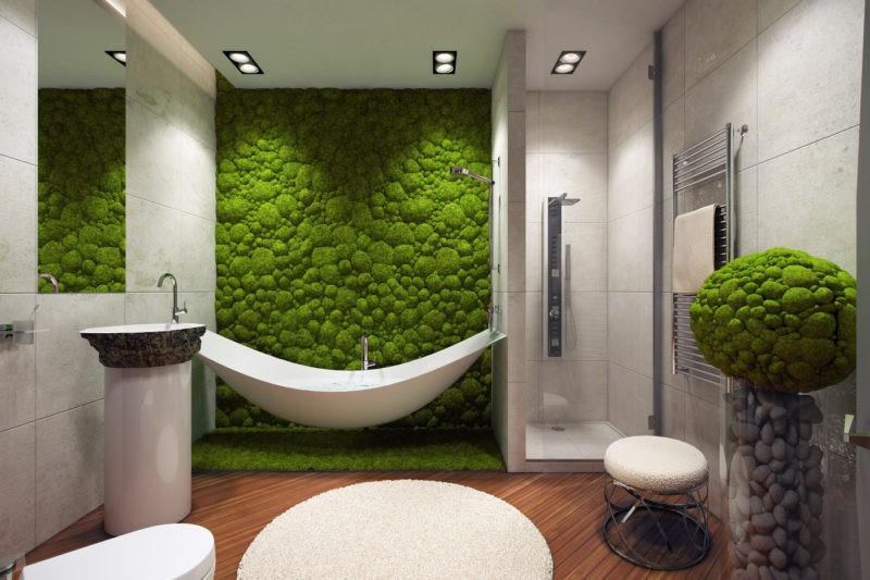 «Декоративный мох: разновидности, где применяется» фото - 8 1 800x533