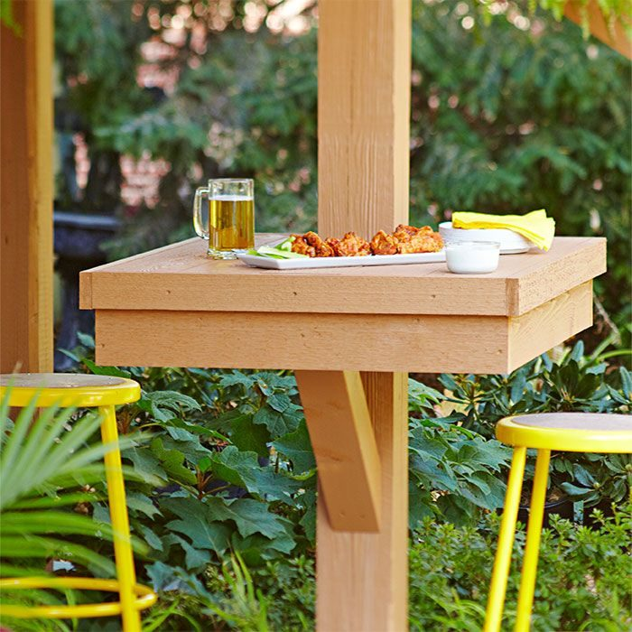 «Как сделать уличный стол своими руками: инструкция и лучшие идеи» фото - 9 7