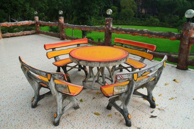 «Как сделать уличный стол своими руками: инструкция и лучшие идеи» фото - Sadovaja mebel iz dereva 8 800x534