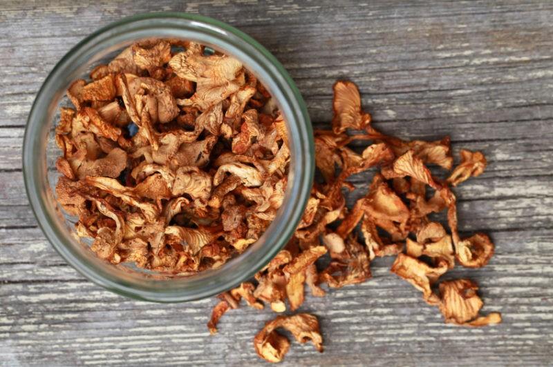 «Сколько и как правильно нужно сушить грибы?» фото - griba 01 800x532