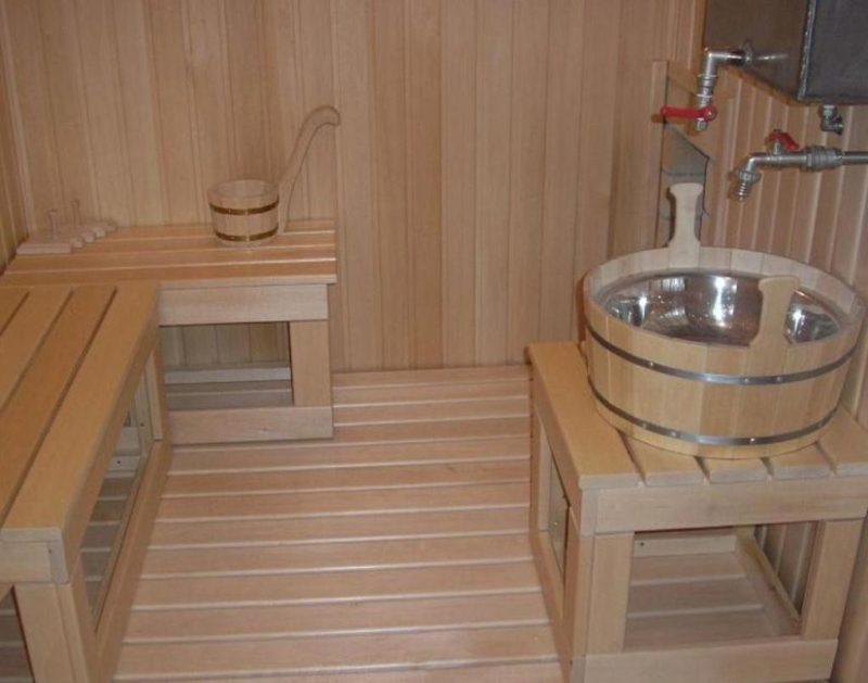 «Пол в моечной бани своими руками: процесс установки, выбор материалов» фото - pol moechnaja 10 800x629