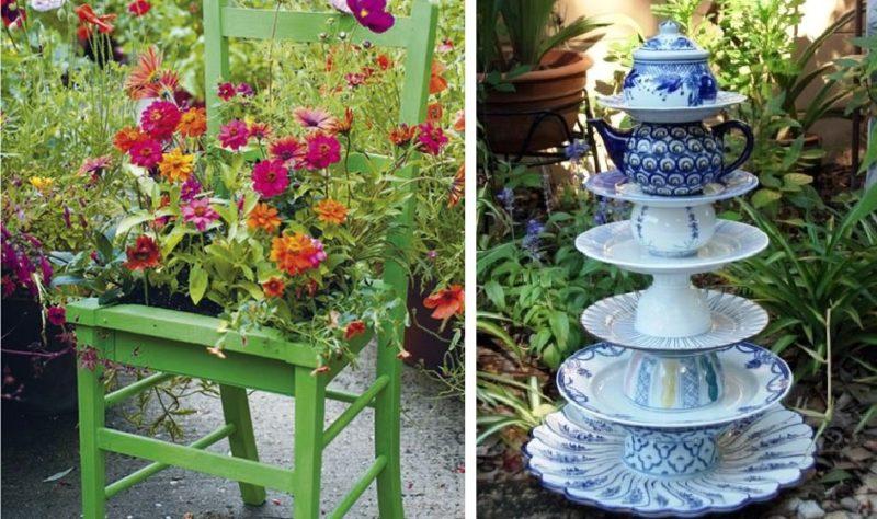 «Как сделать декор для сада своими руками - инструкция и фото идеи» фото - 1 1 800x474
