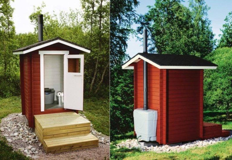 «Туалет для дачи Теремок - как сделать своими руками, где купить, идеи для туалета» фото - 1 4 800x554