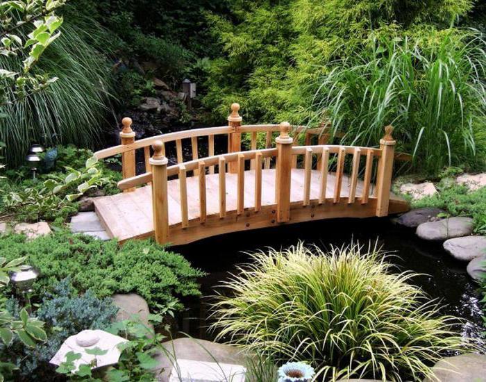 «Как сделать садовые мостики своими руками: инструкция и фото идеи» фото - 1
