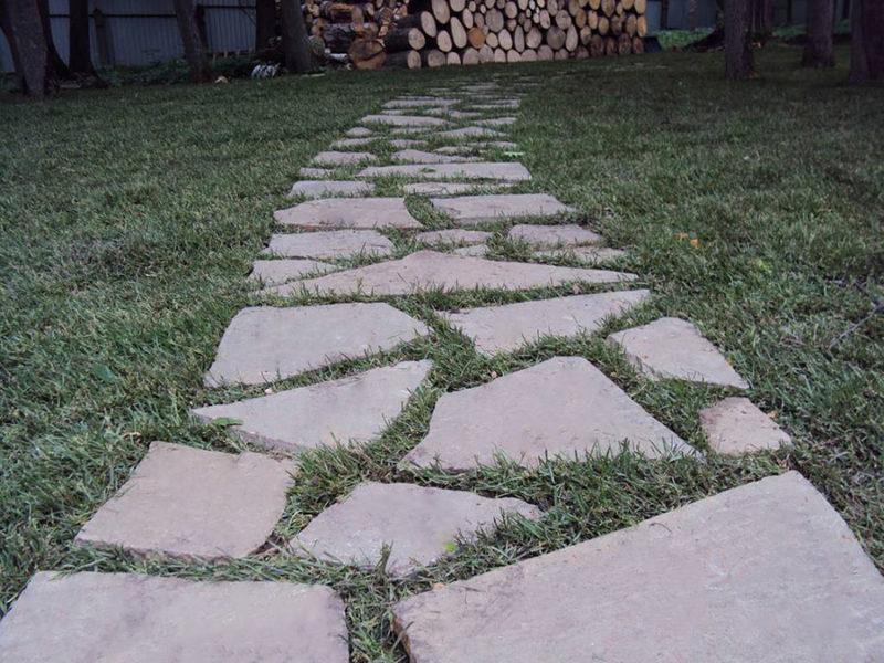 «Дорожки из плитняка на дачном участке» фото - 12 1 800x600