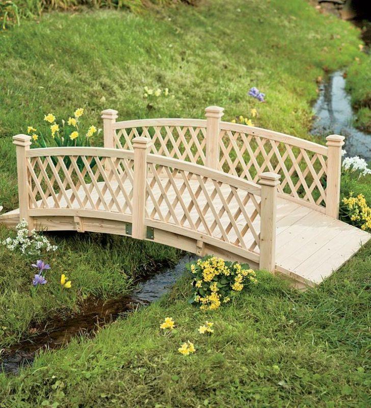 «Как сделать садовые мостики своими руками: инструкция и фото идеи» фото - 17 728x800