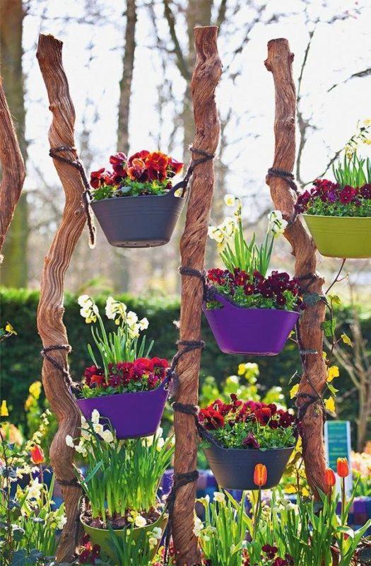 «Как сделать декор для сада своими руками - инструкция и фото идеи» фото - 2 1 525x800