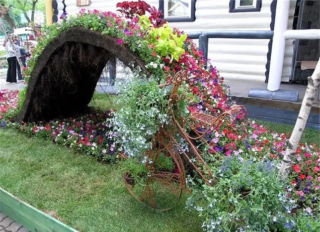 «Как сделать декор для сада своими руками - инструкция и фото идеи» фото - 2 2