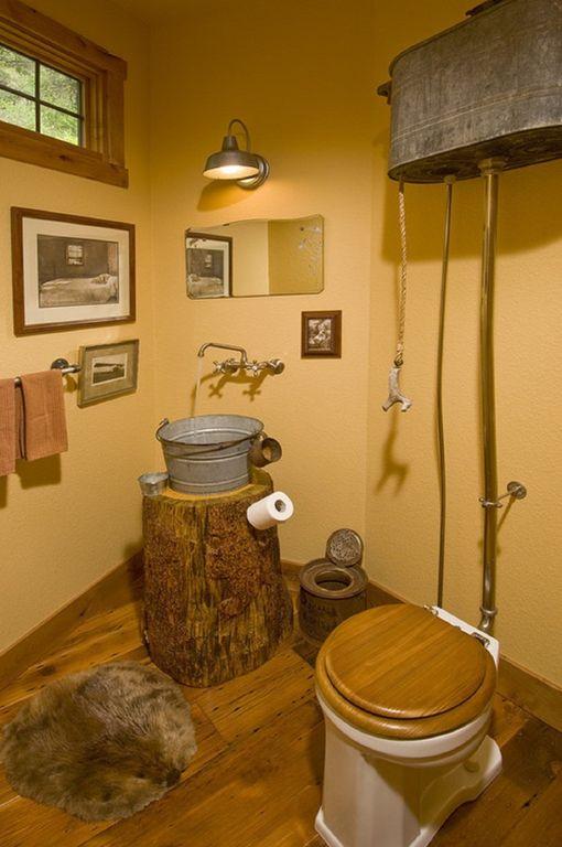 «Туалет для дачи Теремок - как сделать своими руками, где купить, идеи для туалета» фото - 2 3