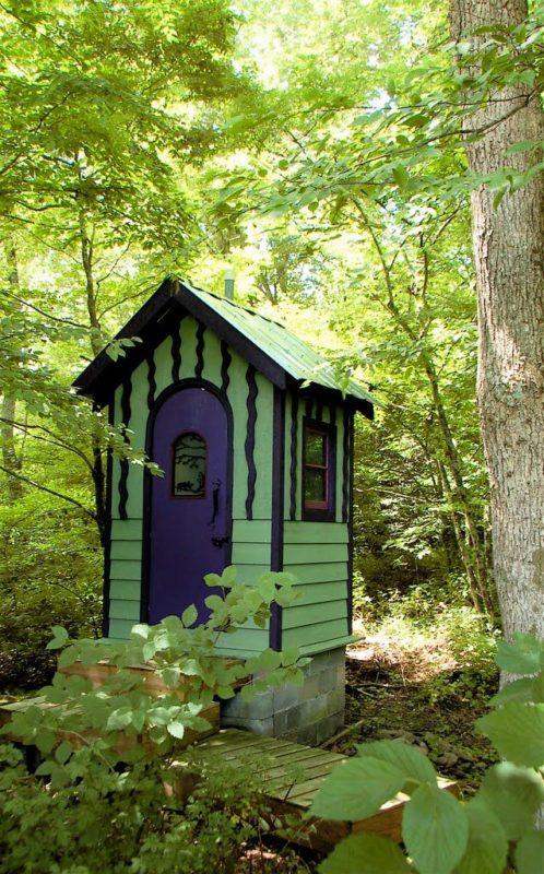 «Туалет для дачи Теремок - как сделать своими руками, где купить, идеи для туалета» фото - 2 4 498x800