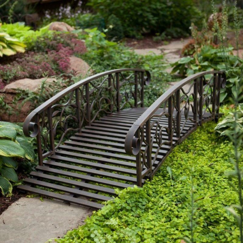 «Как сделать садовые мостики своими руками: инструкция и фото идеи» фото - 20 800x800