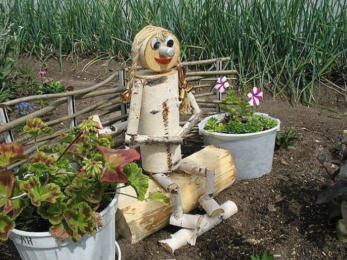 «Как сделать декор для сада своими руками - инструкция и фото идеи» фото - 2635087256