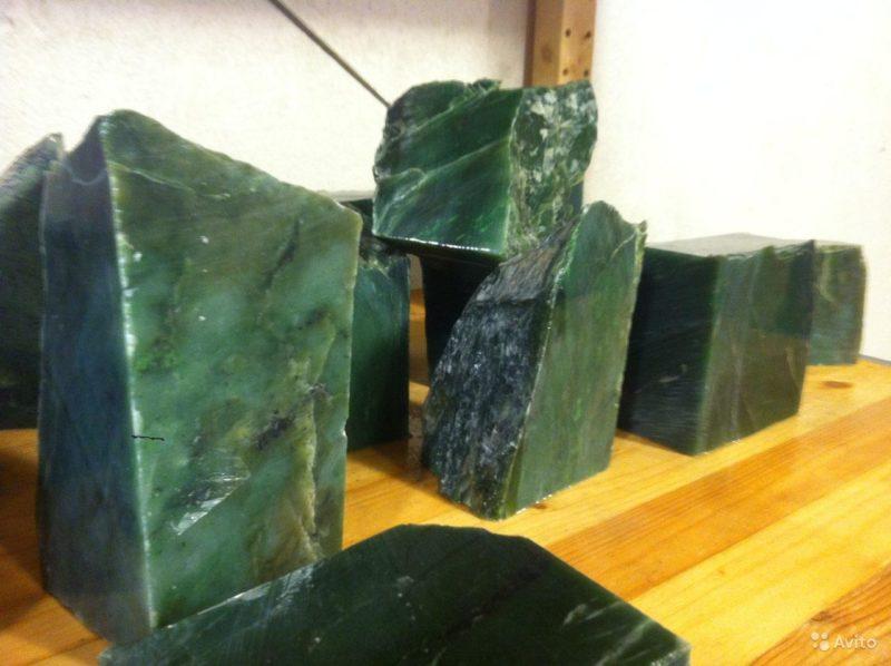 «Сибирский нефрит - камень для бани и сауны в СПб» фото - 3649257716 800x598