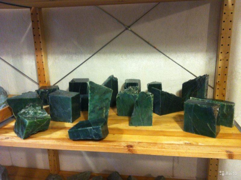 «Сибирский нефрит - камень для бани и сауны в СПб» фото - 3649257717 800x598