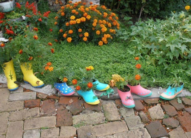 «Как сделать декор для сада своими руками - инструкция и фото идеи» фото - 4 1 800x578