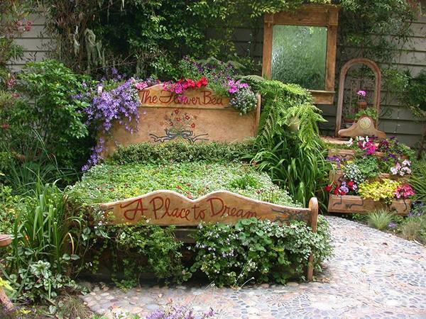 «Как сделать декор для сада своими руками - инструкция и фото идеи» фото - 4 2
