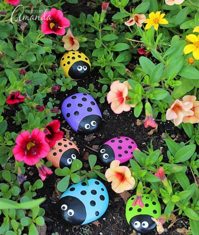 «Как сделать декор для сада своими руками - инструкция и фото идеи» фото - 5 2 678x800