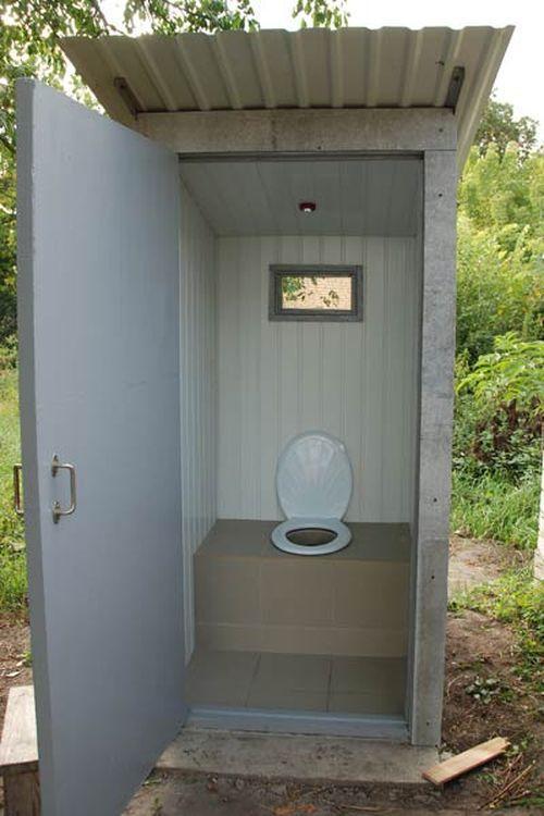 «Туалет для дачи Теремок - как сделать своими руками, где купить, идеи для туалета» фото - 6 3