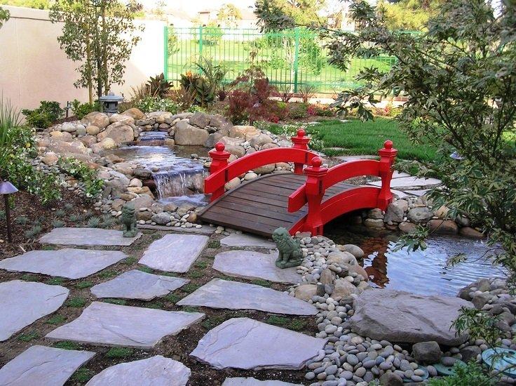 «Как сделать садовые мостики своими руками: инструкция и фото идеи» фото - 6