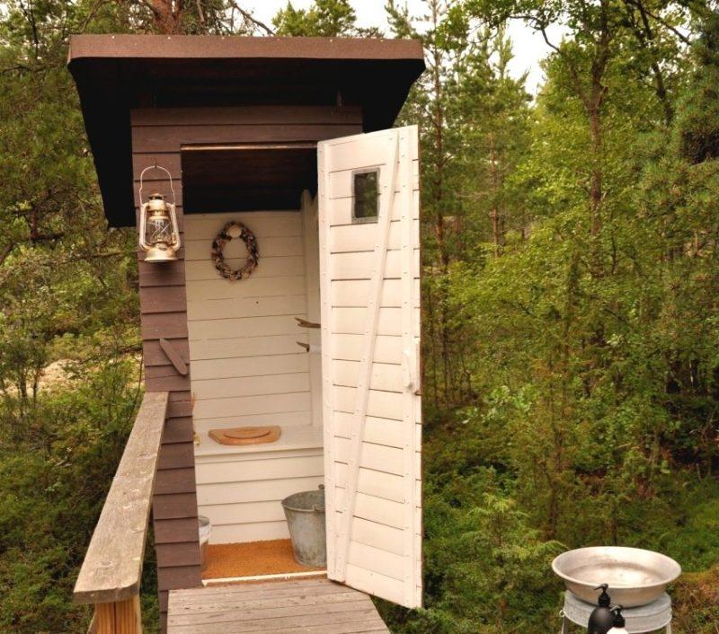 «Туалет для дачи Теремок - как сделать своими руками, где купить, идеи для туалета» фото - 7 3 800x706