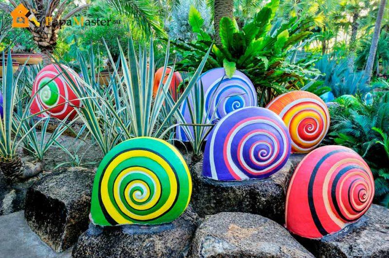 «Как сделать декор для сада своими руками - инструкция и фото идеи» фото - 8 1 800x532