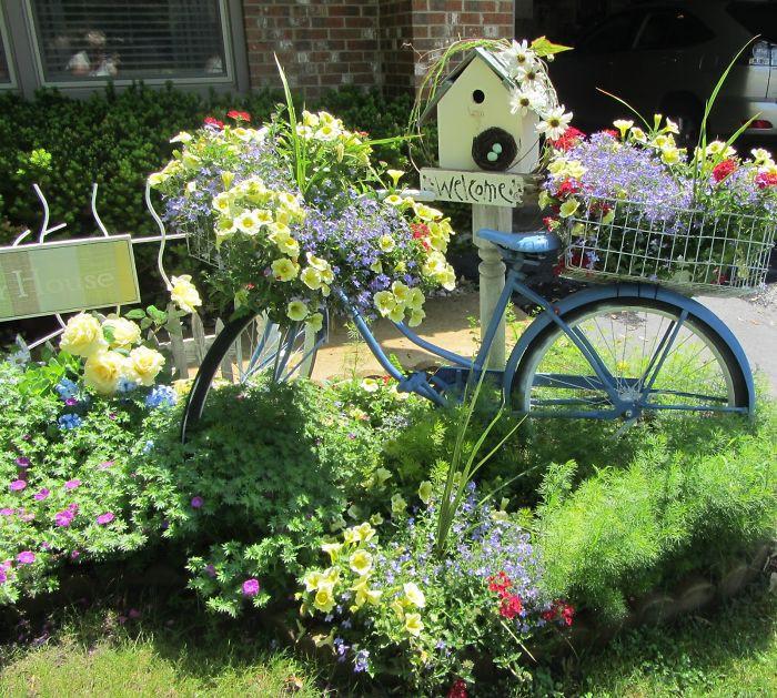 «Как сделать декор для сада своими руками - инструкция и фото идеи» фото - 8 2