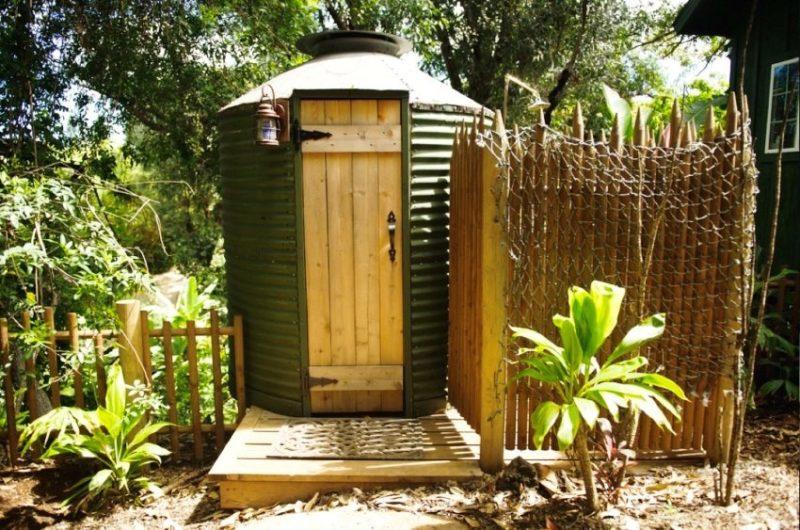 «Туалет для дачи Теремок - как сделать своими руками, где купить, идеи для туалета» фото - 8 3 800x530