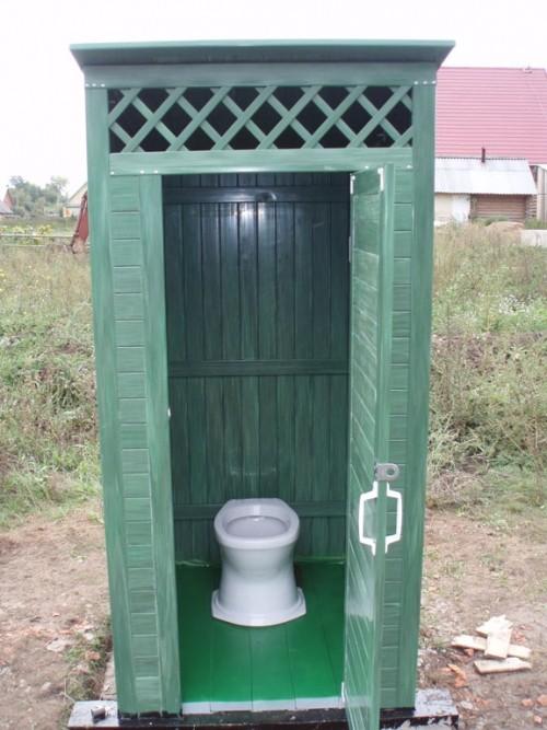 «Туалет для дачи Теремок - как сделать своими руками, где купить, идеи для туалета» фото - 8 4