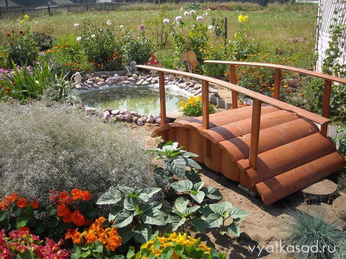 «Как сделать садовые мостики своими руками: инструкция и фото идеи» фото - 8