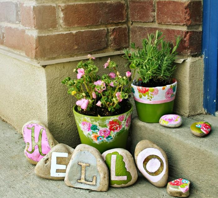 «Как сделать декор для сада своими руками - инструкция и фото идеи» фото - 9 2