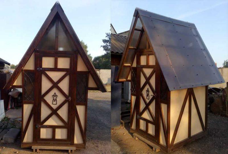 «Туалет для дачи Теремок - как сделать своими руками, где купить, идеи для туалета» фото - 9 4 800x541